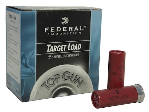 "Federal Top Gun Ammunition 12 Gauge 2-3/4"" 1 oz"