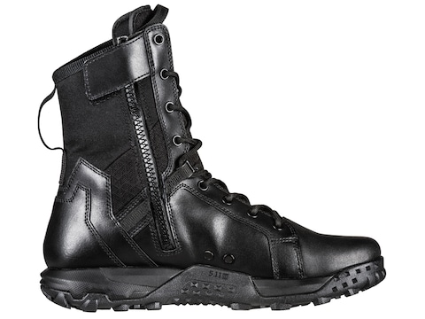 5.11 A/T Side Zip Tactical Boots Leather/Nylon Black Men's