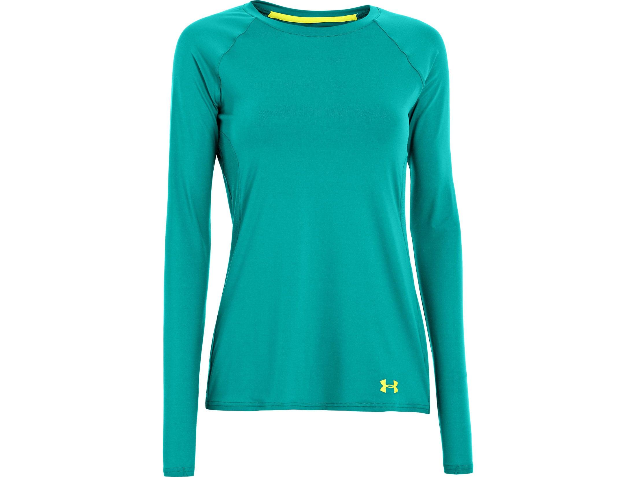 499e19e0db Under Armour Women's UA ISO Chill Long Sleeve Crew Shirt Polyester