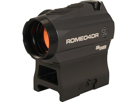 Sig Sauer ROMEO4DR Red Dot Sight 1x Ballistic Circle Dot Reticle High Hex Bolt Mount Gr...