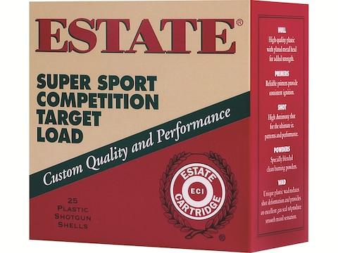 """Estate Super Sport Ammunition 12 Gauge 2-3/4"""""""