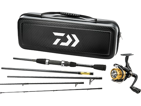 Daiwa Carbon Case Travel Spinning Combo Spinning Rod