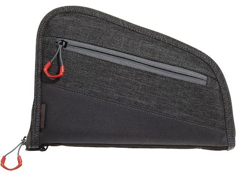 """Allen Auto-Fit 2.0 Handgun Case 9"""" Gray/Red"""