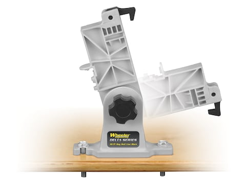 Wheeler Delta Series Lower Receiver Magazine Well Vise Block KAC SR25, LR-308 Polymer