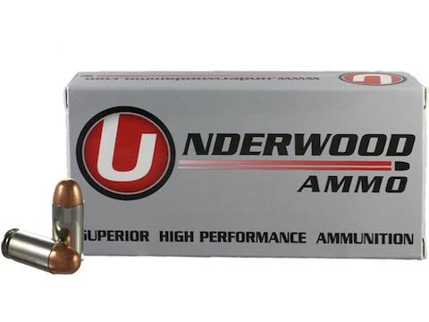 Underwood Ammunition 45 ACP +P 230 Grain Full Metal Jacket Box of 50