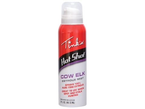 Tink's Hot Shot Elk Cow Estrous Mist 3 oz Aerosol