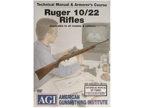 """American Gunsmithing Institute (AGI) Technical Manual & Armorer's Course Video """"Ruger 1..."""