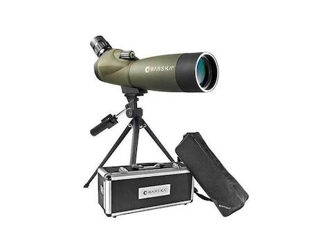 Barskahawk Spotting Scope 20-60x 60mm with Tripod and Hard Case Rubber