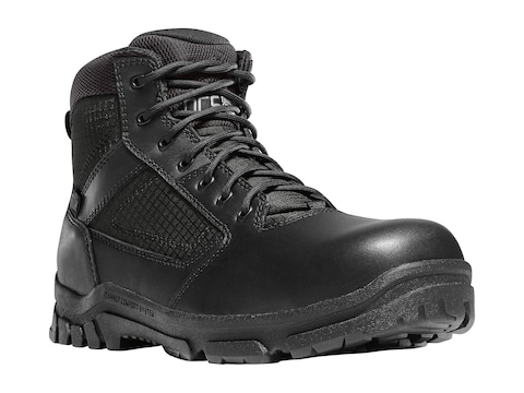 """Danner Lookout 5.5"""" Side-Zip Non-Metallic Safety Toe Tactical Boots Leather/Nylon Men's"""