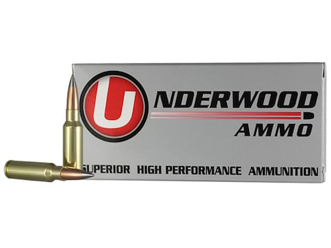 Underwood Ammunition 6.5 Grendel 105 Grain Lehigh Match Grade Solid Flash Tip Lead-Free...