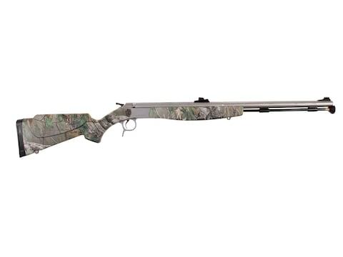 """CVA Optima V2 Northwest Muzzleloading Rifle with Fiber Optic Sight 50 Caliber 26"""" Flute..."""