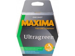 Maxima Ultragreen Monofilament Fishing Line 2lb 110yd Moss Green