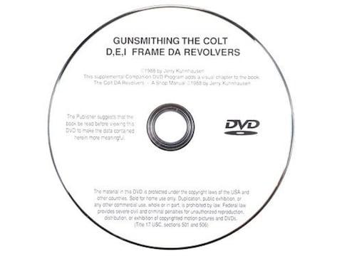 "Gun Video ""Gunsmithing the Colt Revolvers"" by Jerry Kuhnhausen DVD"