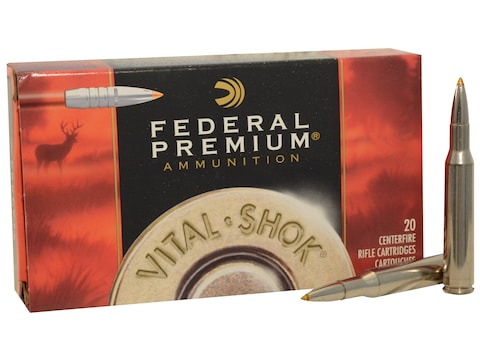 Federal Premium Ammunition 270 Winchester 140 Grain Trophy Bonded Tip Box of 20
