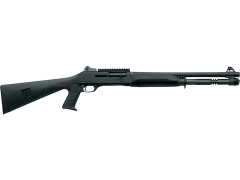 "Benelli M4 Tactical 12 Gauge Semi-Automatic Shotgun 18.5"" Barrel Black Synthetic 5+1 Round"