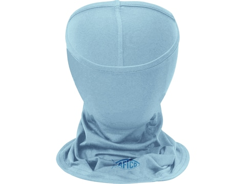 AFTCO Fishing Face Mask Polyester Light Blue