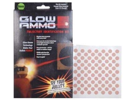 Glow Ammo Trajectory Identification Kit 9mm, 38 Caliber, 380 Caliber (330 Diameter) 1 g...