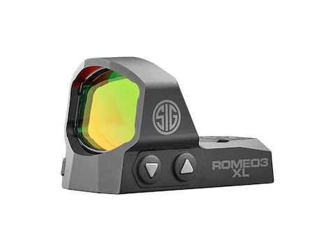 Sig Sauer ROMEO3 XL Reflex Sight 1x35mm 1 MOA Adjustments MOA Dot Black
