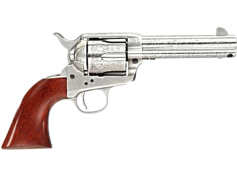 Taylor's & Co 1873 Cattleman Floral Engraved Revolver