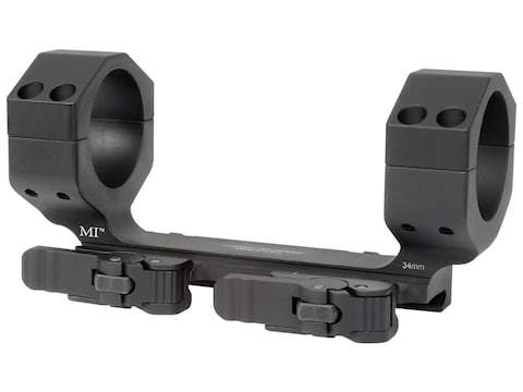 Midwest Industries 34mm Heavy Duty QD Scope Mount Picatinny-Style Zero Offset Matte
