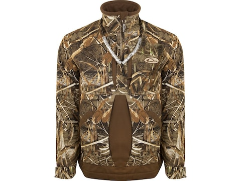 Drake Men's Guardian Flex Fleece Lined 1/4 Zip Insulated Jacket Polyester