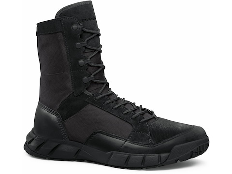 "Oakley SI Light Patrol 8"" Tactical Boots Leather Black Men's"