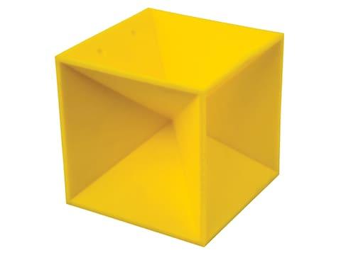 "Caldwell Duramax 5"" Target Square Ballistic Polymer Yellow"