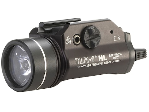 Streamlight TLR-1 HL Weaponlight LED with 2 CR123A Batteries Fits Picatinny or Glock-St...