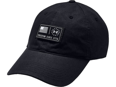 Under Armour Men's UA Freedom Fury Cap Cotton Black One Size Fits Most