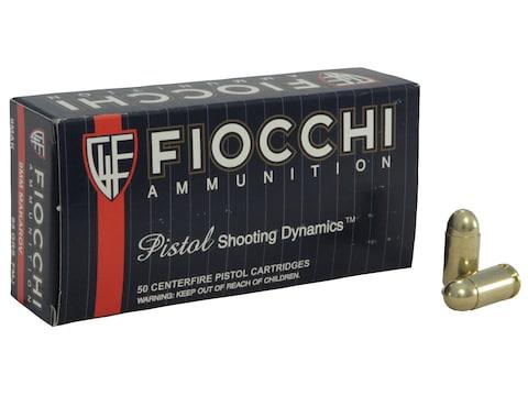 Fiocchi Shooting Dynamics Ammunition 9x18mm (9mm Makarov) 95 Grain Full Metal Jacket Bo...