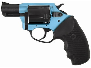 """Charter Arms 53864 Sante Fe Undercover Lite Revolver 38 Special +P 2"""" Barrel 5-Round Turquoise/Black and Black Rubber"""