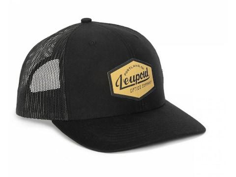 Leupold Men's Gold Label Hat Cotton Black
