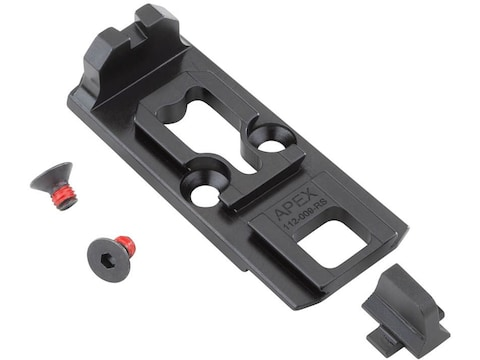 Apex Tactical Aimpoint Acro P-1 Optic Mounting Plate with Integrated Rear Sight for Sig...