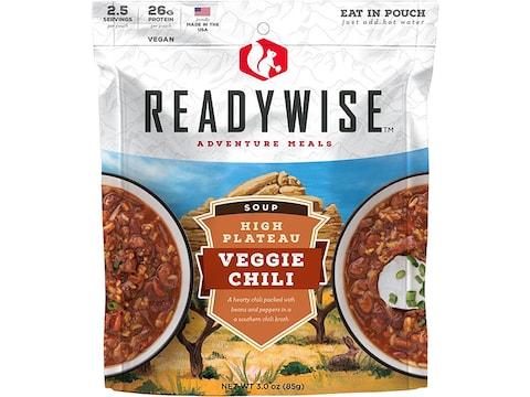 ReadyWise High Plateau Veggie Chili Soup Freeze Dried Food