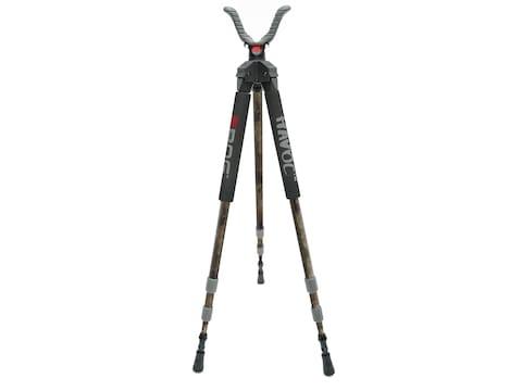 """BOG Havoc Series Twist Lock Shooting Stick Tripod 18"""" to 52"""" Aluminum"""