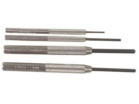 Lyman Roll Pin Punch Set 4-Piece Steel