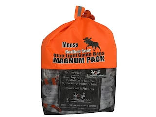 Caribou Gear Large Game Meat Bag Pack Synthetic Blend White
