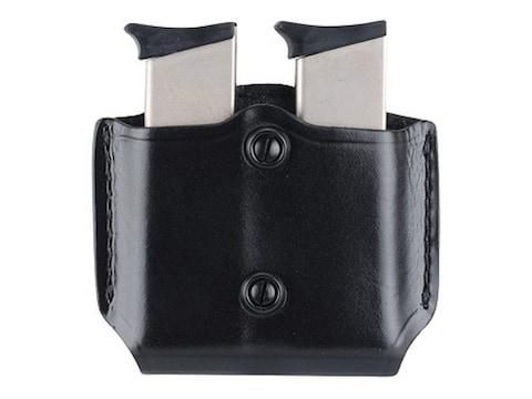 Gould & Goodrich B851 Belt Double Magazine Pouch Leather Black