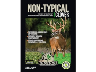 BioLogic Non-Typical Clover Perennial Food Plot Seed 2 lb