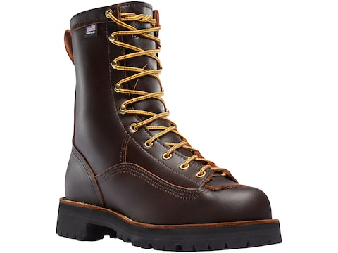 """Danner Rain Forest 8"""" GORE-TEX Work Boots Leather Men's"""