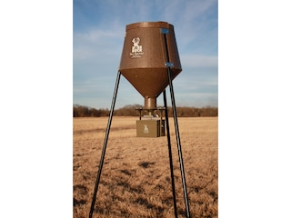 Boss Buck All In Auto System 12 V 200lb 2-in-1 Leg System Game Feeder