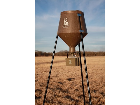 Boss Buck All In Auto System 12 V 2-in-1 Leg System Game Feeder