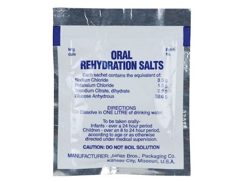Adventure Medical Kits Oral Rehydration Salts Concentrate Pack of 3