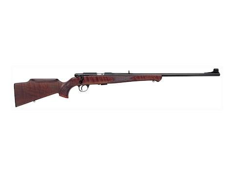 """Anschutz 1710 D KL Rifle 22 Long Rifle 23"""" Barrel Blue, Monte Carlo Walnut Stock"""