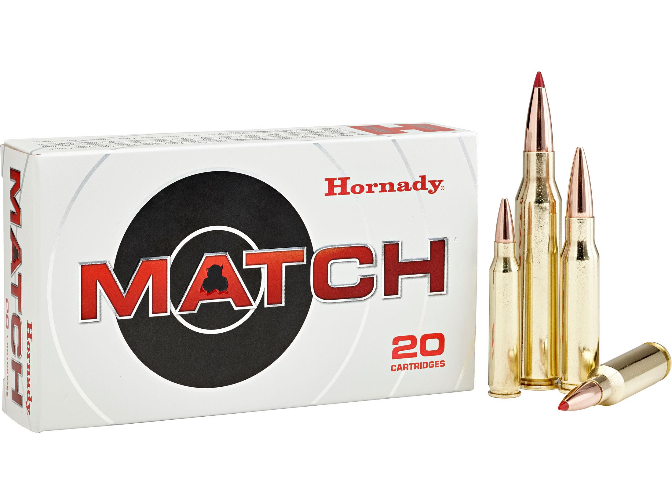 Hornady Match Ammo 6.5 Creedmoor 140 Grain ELD Match Box of 20