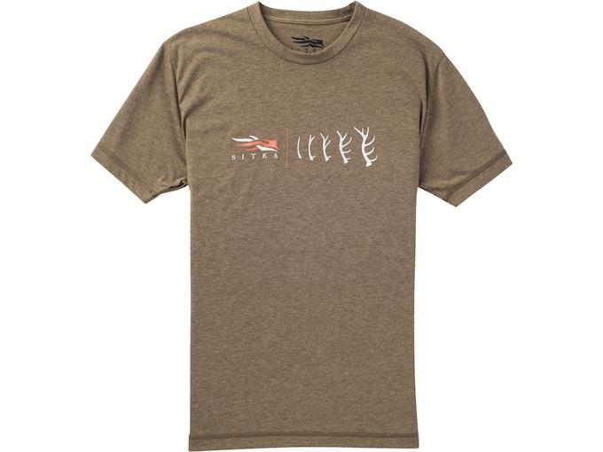 Sitka Gear Men's Antler Evolution Elk T-Shirt Short Sleeve Polyester/Cotton