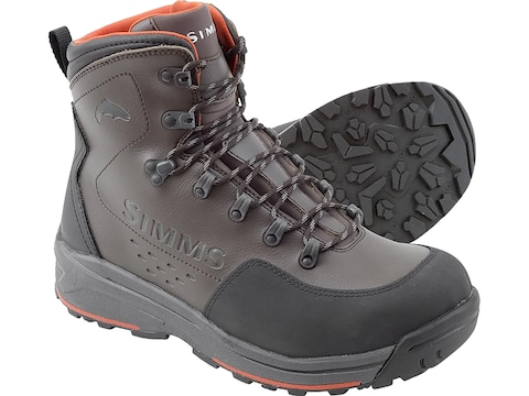 Simms Freestone Wading Boots Rubber Outsole Men's