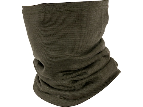 Military Surplus East German Neck Gaiter Grade 1 Olive Drab Wool