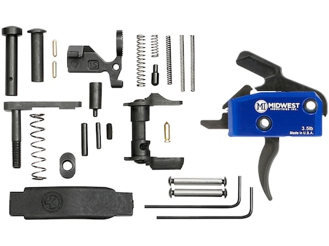 Midwest Industries AR-15 Enhanced Lower Receiver Parts Kit