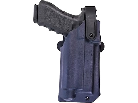 Comp-Tac Blue Duty Holster Uncovered Optic with Red Dot Kydex Black